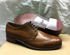 CH Warren #C3392 Men's Wingtip Oxford Brogue Shoes. Tan | 7 uk | Export Surplus