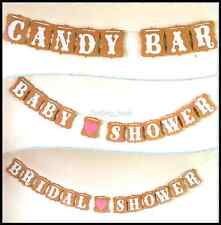Bunting Banner Baby Shower Wedding Party Garland Photo Props Hanging Decor