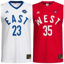 NBA All Star Adidas Maillot de baloncesto Oeste Durant #35 EAST JAMES #23 S-