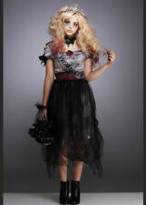 Kids and Teen Zombie Prom Queen Halloween Costume