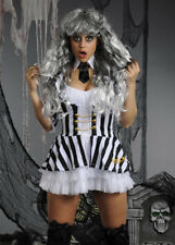 Ladies Sexy Beetlejuice Costume