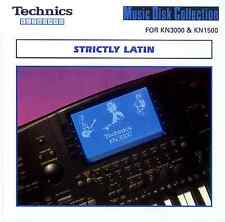 STRICTLY LATIN 1 floppy disk Technics KN7000 KN6000 KN5000, KN3000 KN2000 etc