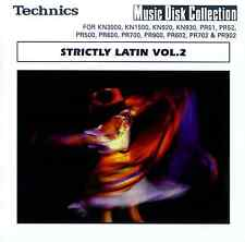 STRICTLY LATIN 2 floppy disk Technics KN7000 KN6000 KN5000, KN3000 KN2000 etc