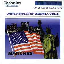 United Styles Of America 2: MARCHES floppy disk Technics KN7000 KN6000 etc