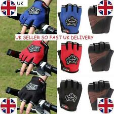 Racing Cycling Sports Glove Outdoor Bicycle Mountain Bike Half Finger Gloves UK