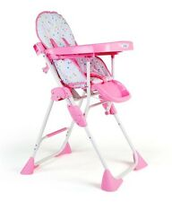 Luv Lap Baby High Chair Comfy Pink - 18116 Flat 20% OFF