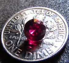FABULOUS all NATURAL Arizona Chrome Pyrope Ruby Red Ant hill Garnet Round BN