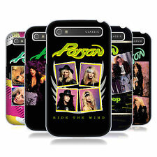 OFFICIAL POISON ALBUM COVERS HARD BACK CASE FOR BLACKBERRY PHONES