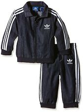 ADIDAS ORIGINALS FIREBIRD JEANS ENFANTS JOGGER DENIM SURVÊTEMENT SPORT COSTUME