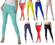 Treggings Jeggings Leggings Hose Reiterhose Optik Gr. S/M M/L , 1052