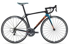 GIANT TCR Advanced 1 LTD Carbon Rennrad Ultegra 2x11 Schwarz Blau Orange M. 2017