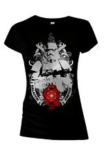 Star Wars Womens Slim Fit Galactic Empire Stormtrooper Shirt New Ladies Jedi Top