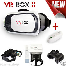 COMBO & SINGLE OFFER 3D VR BOX 2.0 Virtual Reality Glasses Headset + VR Remote