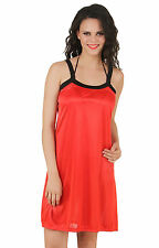 Fasense Exclusive Women Satin Nightwear Sleepwear Short Nighty DP146 C