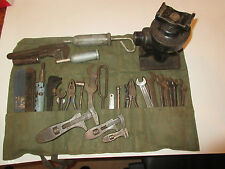 vintage land rover series tool kit items and shelley jack