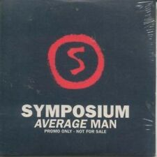 SYMPOSIUM Average Man CD UK Infectious 1 Track Promo In Special Card Sleeve