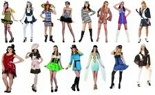Adult Ladies womens Fancy Dress Costume Sexy Cop Outfit one Size(8-14)