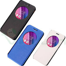 "Custodia CIRCLE VIEW finestra cover STAND per Asus Zenfone Go 5.0"" ZC500TG"