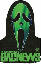 CLASSIC HORROR GHOSTFACE T SHIRT GHOST FACE SCREAM SCARY MOVIE HALLOWEEN T-SHIRT