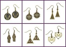 New Official Fantastic Beasts Jewellery Brass Plated Charm Earrings