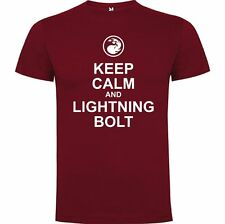 T-SHIRT MAGIC LIGHTNING BOLT MANA MONTAGNA MOUNTAIN TSHIRT SIL Jm003