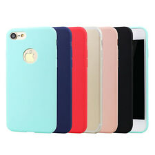 iPhone 7 7 Plus Ultra Thin Candy Color Flexible TPU Case
