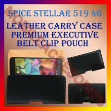 ACM-BELT CASE for SPICE STELLAR 519 4G MOBILE LEATHER POUCH COVER CLIP HOLDER