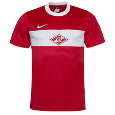 SPARTAK MOSCOU Heim MAILLOT NIKE 405578-601 Rouge Jersey Russie Moscou NEUF