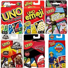 UNO CARD GAME BY MATTEL // NEW AND SEALED // CHOOSE EDITION