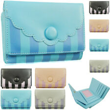 Fashion Ladies Faux Leather Small Coin Purse Womens Wallet Card Holder Bag UK