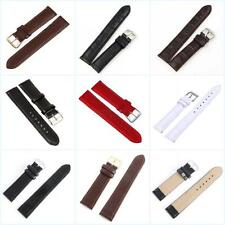 Replacement Leather Watch Strap Band Mens Watchband Watch Strap Wrist Belt Link