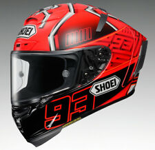 SHOEI X-SPIRIT 3 MARQUEZ ROJO CARRERA DE MOTOS CASCO DE CARRERAS