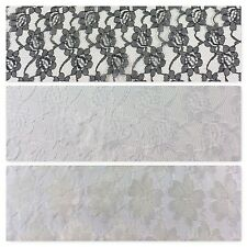 "Floral Budget lace ideal for clothing, wedding Dress fabric 58"" Wide M682 Mtex"
