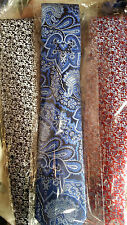 """MEN'S PREMIUM """"NOTTINGHAM SILK"""" TIES FROM BROOK TAVERNER  - New with Tags"""