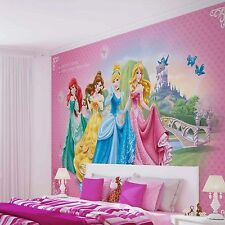 Papier peint princesses Disney ref:198wm