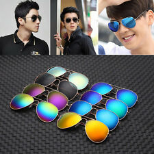 Mirror Sunglasses Fashion 80s Retro Style Designer Shades UV Lens Unisex Eyewear