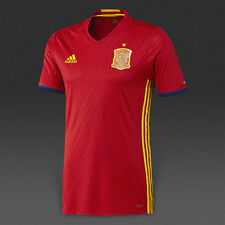 ADIDAS SPAIN EURO 2016 AUTHENTIC PLAYER HOME ADIZERO JERSEY Scarlet.
