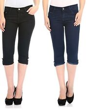 @rk Ladies Women's Slim-fit Stretchable Jeans  and Capri Size 32