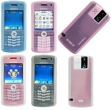 Amzer Silicone Skin Case Protective Cover w/ Keyguard For BlackBerry Pearl 8100