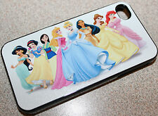 Custom Disney Princess iphone 4 4s 5 5s 5c 6 6 plus hard case cover