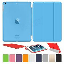 Smart Cover Case Magnetic Sleep/Wake Stand Leather For Apple iPad 4 3 2 Mini 5 6
