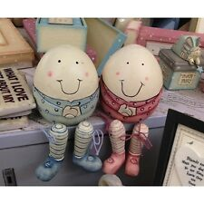 East Of India Wooden Humpty Dumpty New Baby Christening Baby Shower Gift