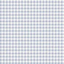 Dollhouse 1:12 Scale Blue Check on White Wallpaper