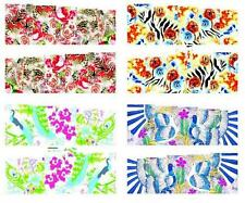 Peacock Rose Abstract Nail Art Sticker Decal Decoration Manicure Water Transfer