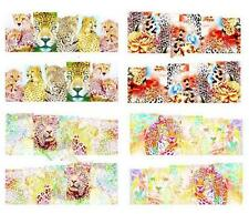 Tiger Leopard Nail Art Sticker Decal Decoration Manicure Water Transfer