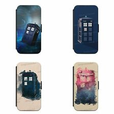 Police Public Phone Box WALLET Phone Case Cover All iPhone & Samsung
