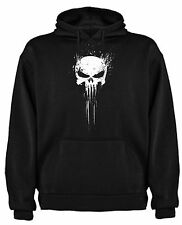FELPA T-SHIRT THE PUNISHER PUNITORE TESCHIO SKULL TOP TSHIRT SIL CCp004