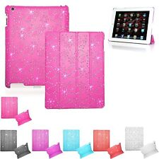 Latest model 2Fold BLING Magnetic Case COVER Hard Back APPLE iPad2 Air MiniPro