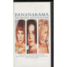 BANANARAMA Greatest Hits Collection VIDEO UK London 13 Track Pal Format Vhs