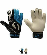 NEW Sondico Match Uomo Goalkeeper Guanti Black/Blue